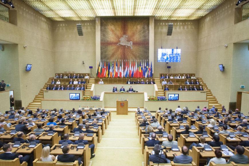 Iškilmingas posėdis Seime