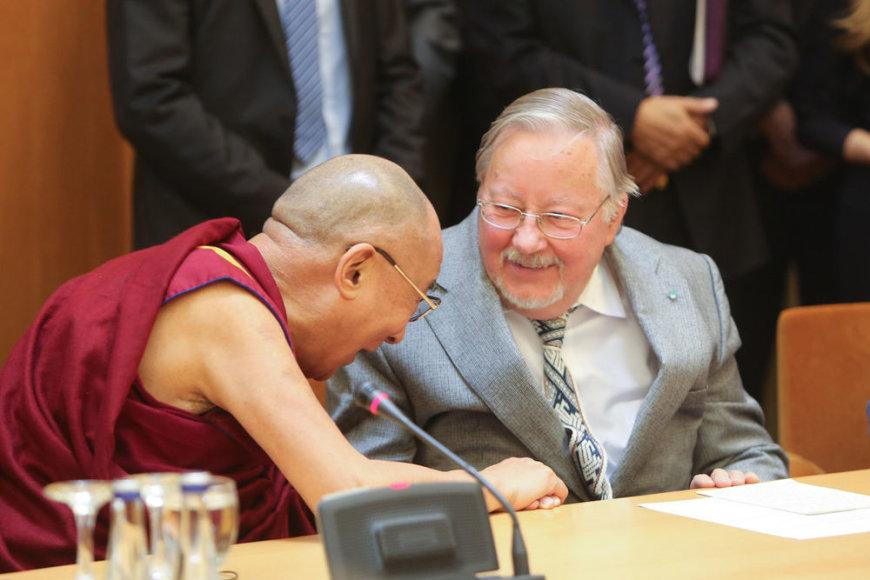 Dalai Lama ir Vytautas Landsbergis