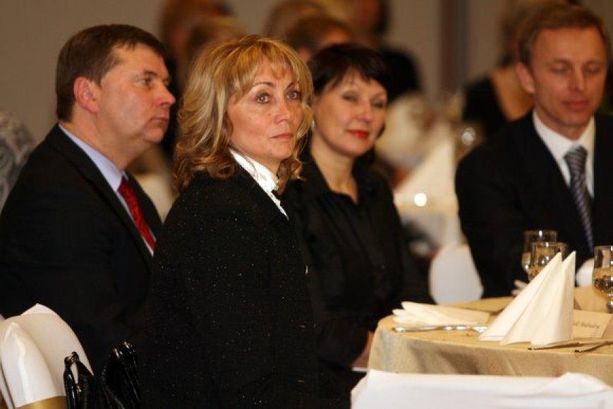 LLAF viceprezidentė N.Medvedeva