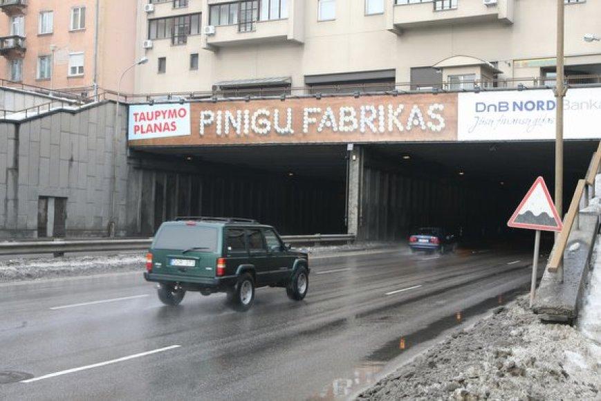 Geležinio Vilko gatvės tunelis