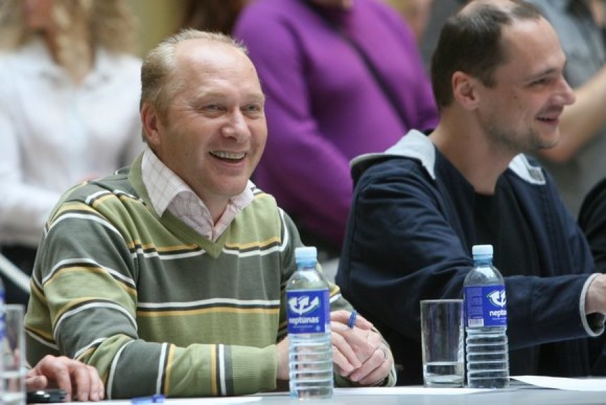 Komisijos narys Jurijus Smoriginas