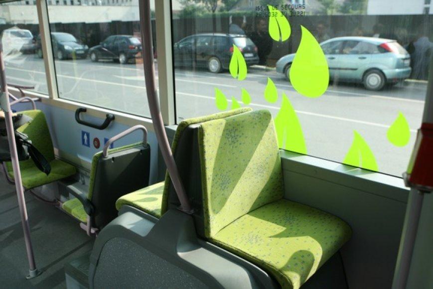 """Gamtinėmis dujomis varomas autobusas """"Irisbus Citeli"""""""