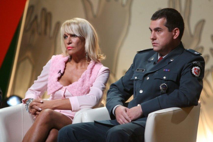 Svetlana Pronina ir Ramūnas Matonis