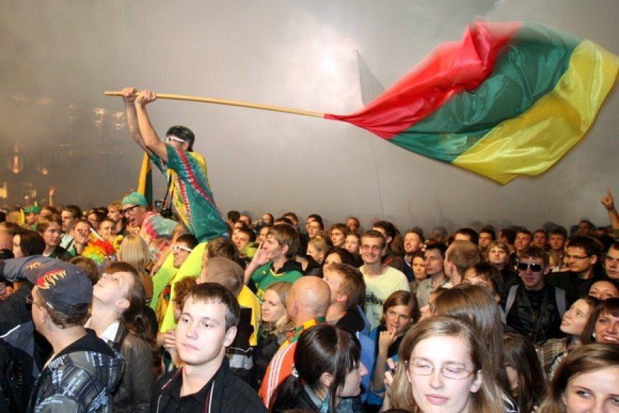 Lietuva aktyviai ruošiasi Europos krepšinio čempionatui.