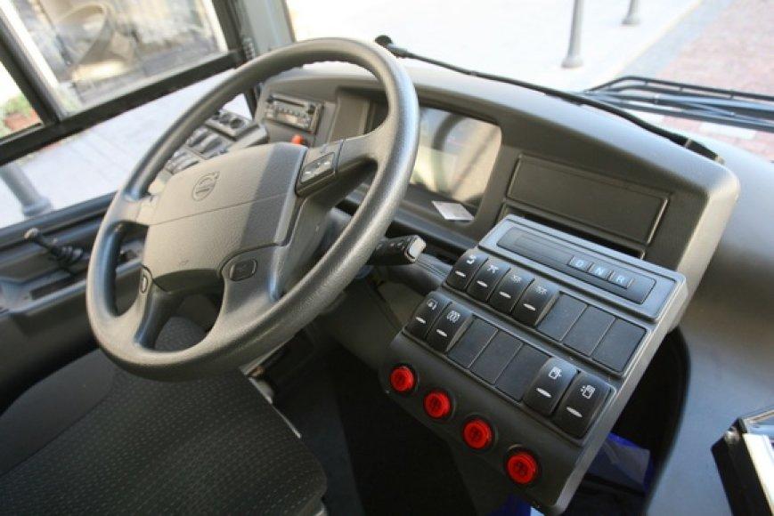 """Spalio 5-11 dienomis Vilniaus gatvėmis važinėja naujausias Švedijos gamintojų elektra ir dyzelinu varomas hibridinis autobusas """"Volvo""""."""
