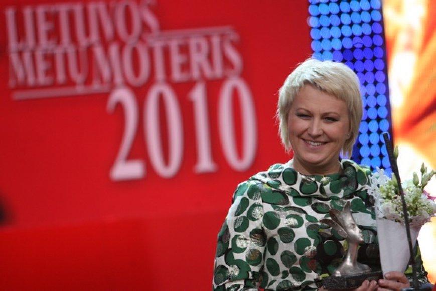 """""""Lietuvos metų moterimi"""" tituluota Neringa Čereškevičienė"""