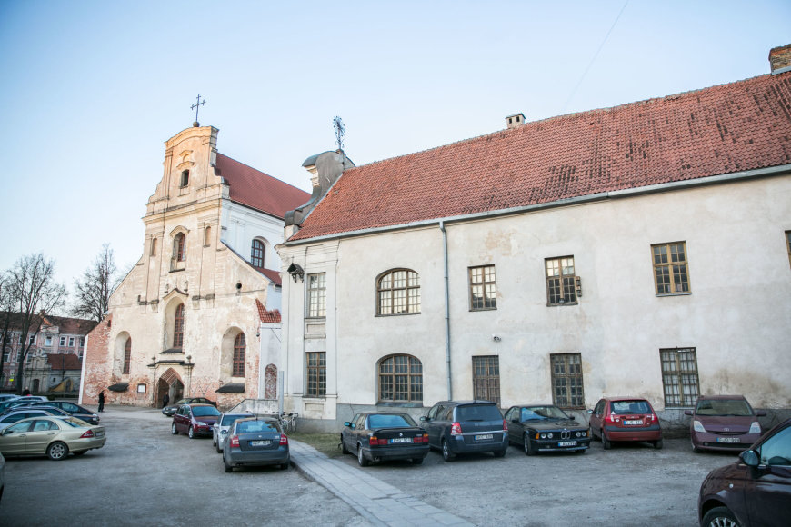 Juliaus Kalinsko / 15min nuotr./Vilniaus pranciškonų vienuolynas