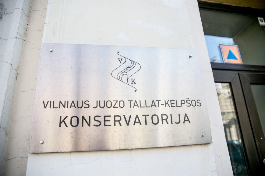 Juliaus Kalinsko / 15min nuotr./Juozo Tallat–Kelpšos konservatorija,