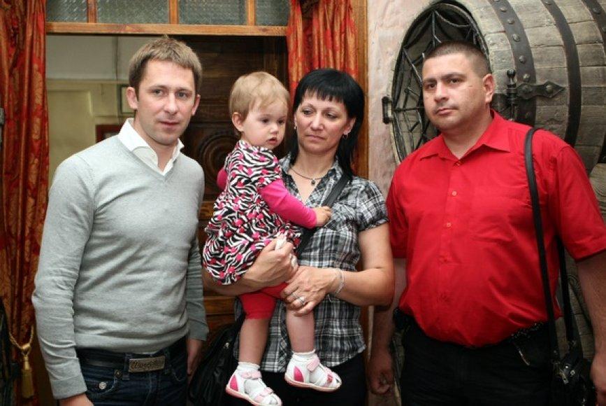Egidjus Dragūnas ir Grigaravičių šeima