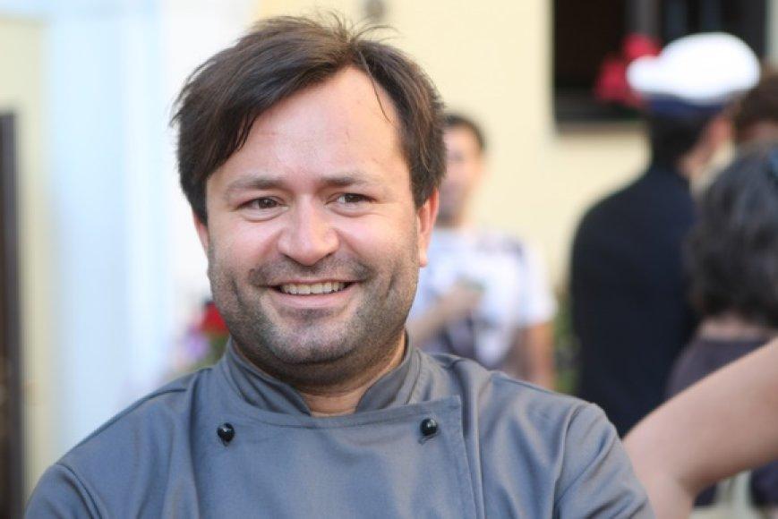 Virtuvės meistras Ruslanas Bolgovas