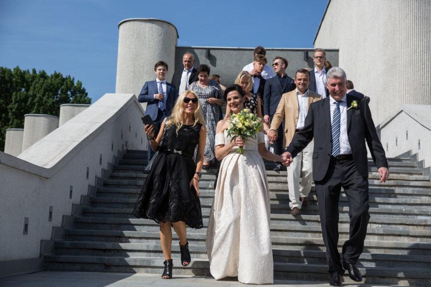 Juliaus Kalinsko / 15min nuotr./ Mariaus Laurinavičiaus ir Ingridos Šidlauskienės vestuvės