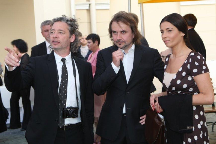 Dexteris Flecheris, Oskaras Koršunovas ir Agnė Jagelavičiūtė