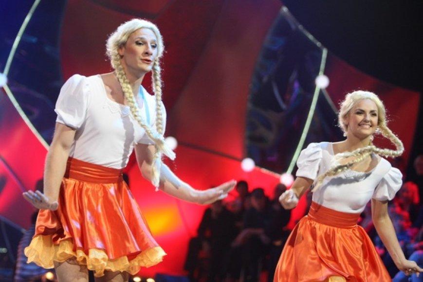 Justas Lapatinskas ir Greta Milišauskaitė
