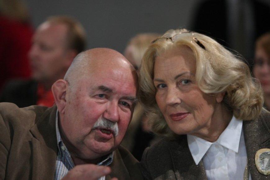 Donatas Katkus ir Dalia Teišerskytė