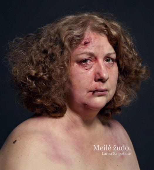 """Larisa Kalpokaitė dalyvavo akcijoje """"Moterys prieš smurtą"""""""