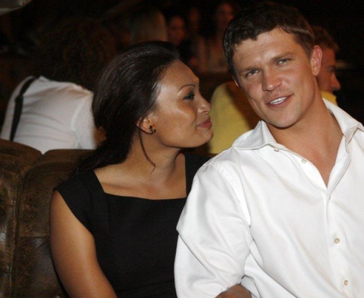 Yalin Mey su buvusiu vyru Jurgiu Polujansku