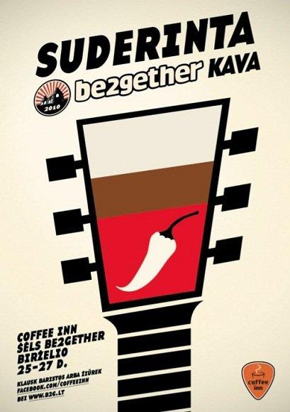 """Festivalio """"Be2gether"""" bilietus jau galima įsigyti """"Coffee Inn"""""""