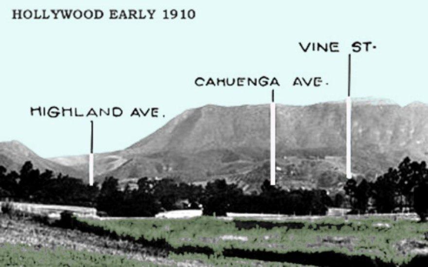 Holivudas 1910 metais