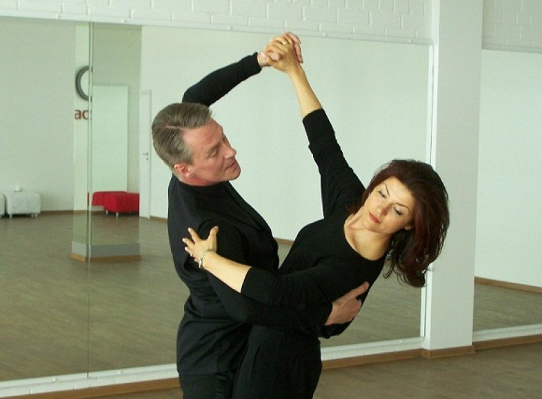 Eirida ir Olegas repeticijoje