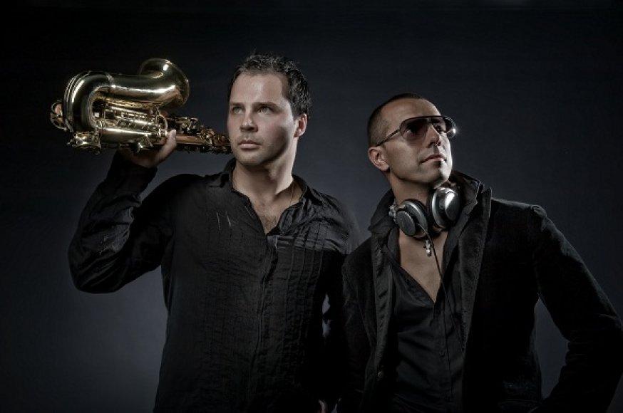 Rikko El Gato ir Serge (kairėje)
