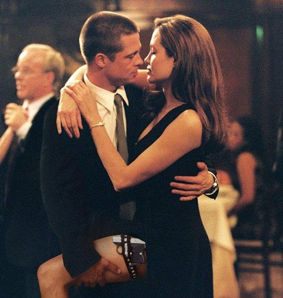 A.Jolie ir B.Pittas
