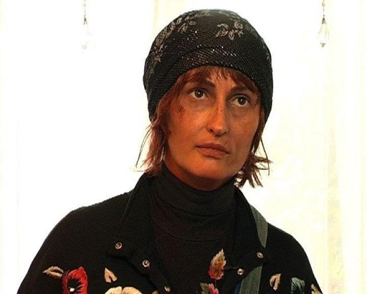 Inga Budrienė vaidina čigonę