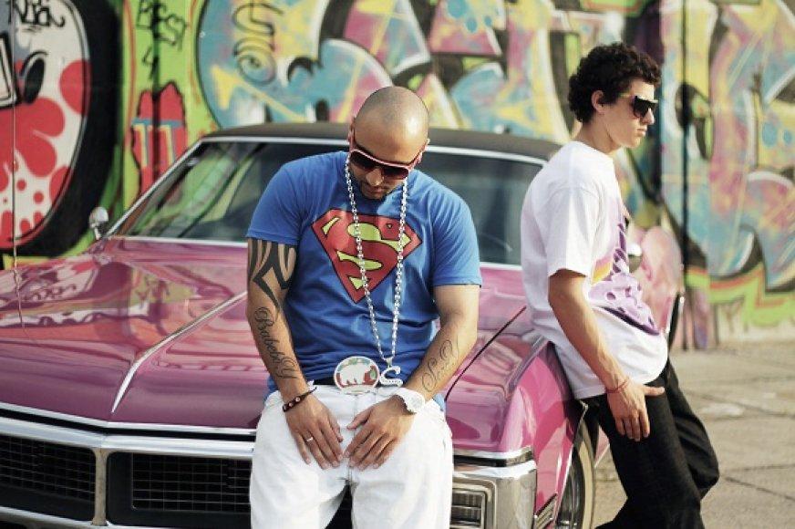 DJ Sezzy ir Donatas Montvydas