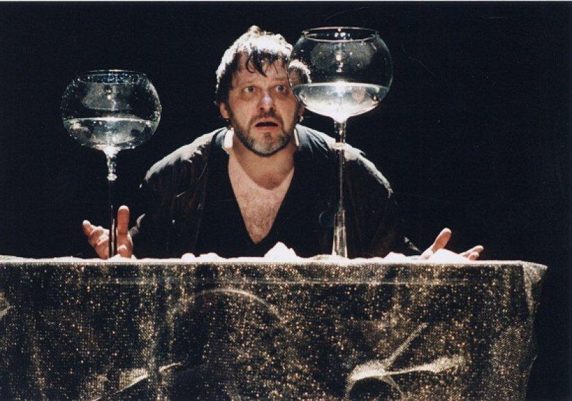 """Scena iš spektaklio """"Hamletas"""""""