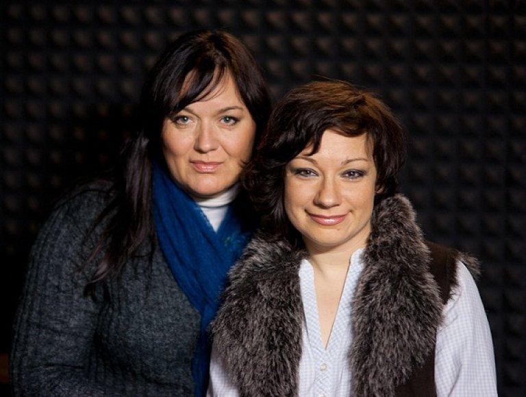 R.Čivilytė ir R.Lukoševičiūtė
