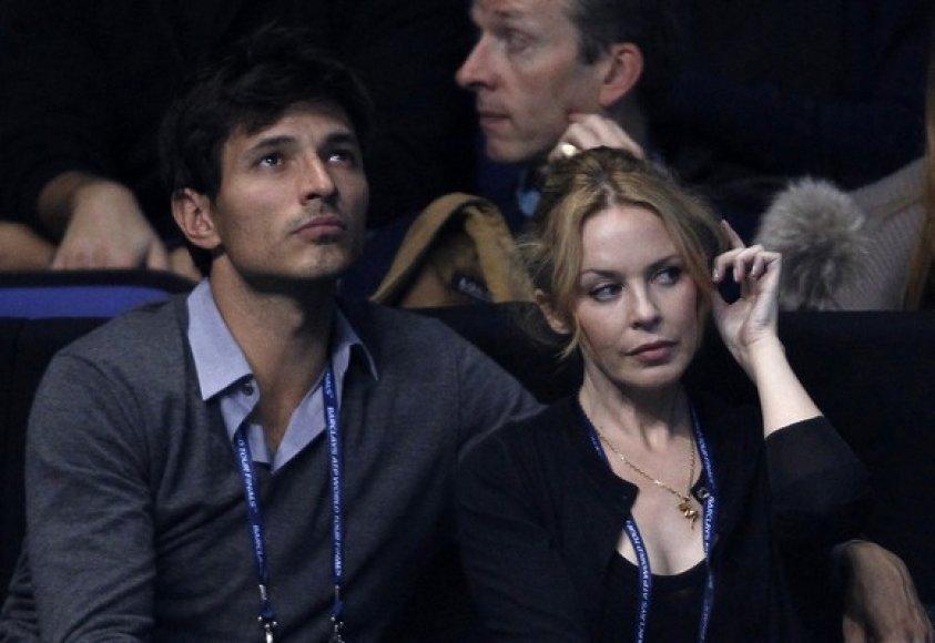 Andresas Velencoso Segura ir Kylie Minogue