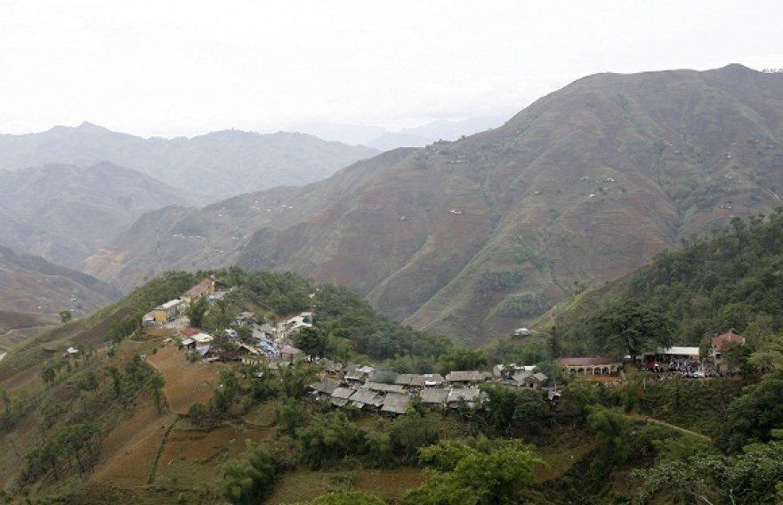 Khau Vai kaimelis Vietname
