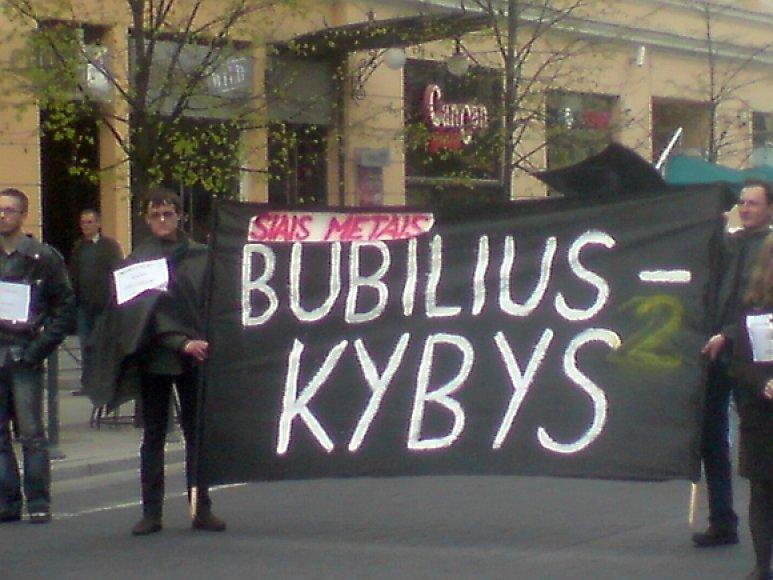 Vilniuje pirmadienį paminėta Tarptautinė darbo diena