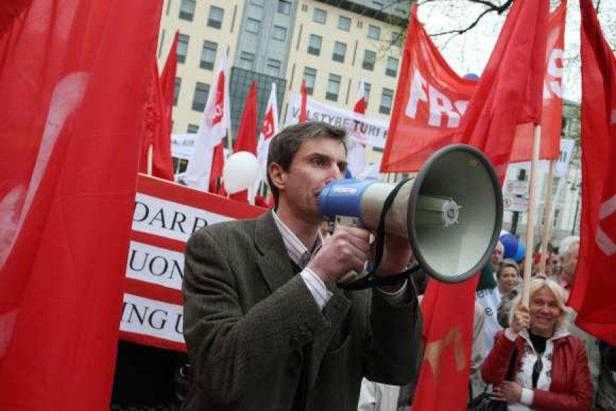 Tarptautinės darbo dienos minėjimas Vilniuje