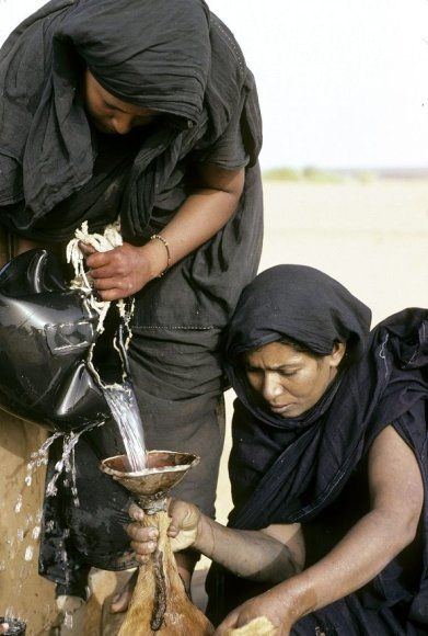 Moterys Mauritanijoje