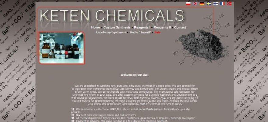 """Sulaikytam Lenkijos piliečiui priklauso internetinė įmonė """"Keten Chemicals"""""""