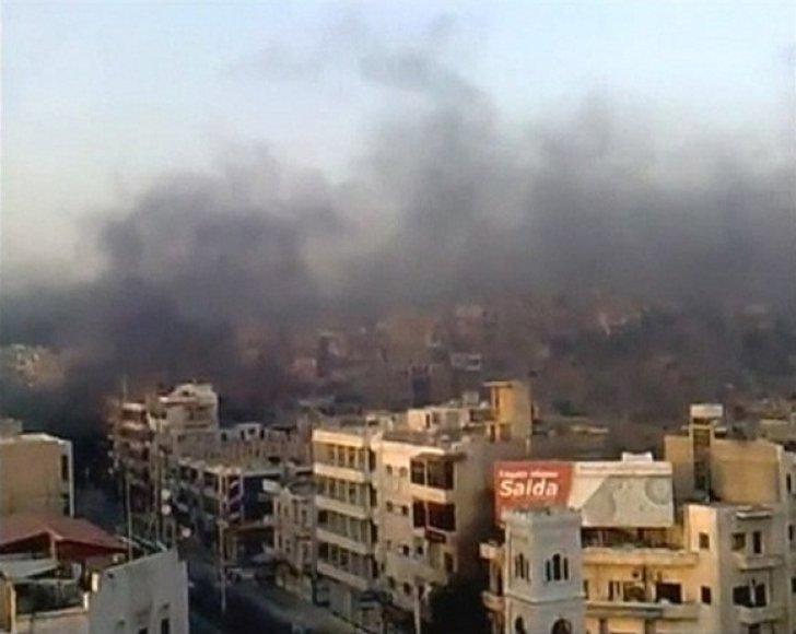 Protestų malšinimas Sirijoje