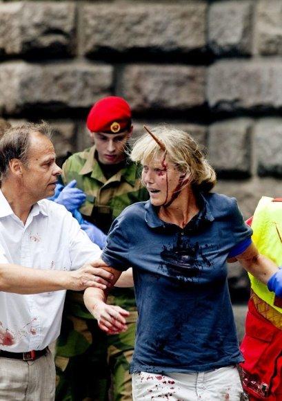 Per sprogimą Osle sužeista Line Nersnaes