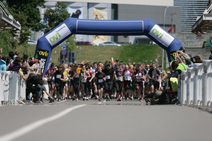 """""""Vilnius Challenge 2011"""" startas."""