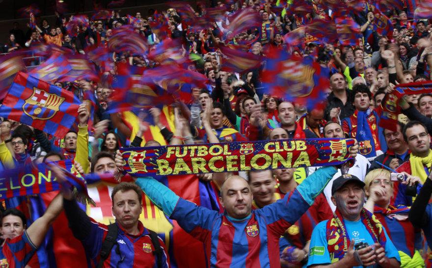 """""""Barcelona"""" klubo sirgaliai"""