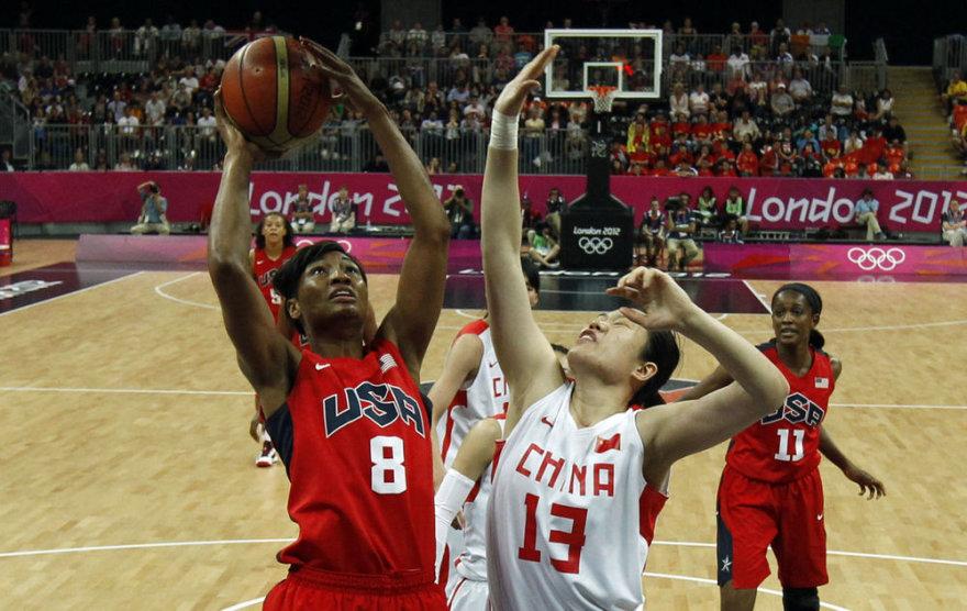 JAV moterų krepšinio rinktinė olimpiadoje laimėjo visus penkis mačus.