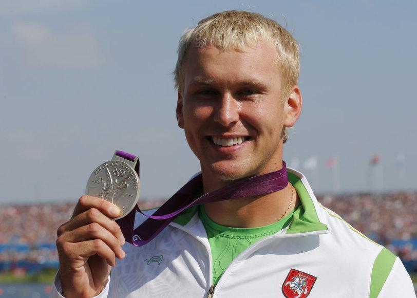 Jevgenijus Šuklinas pasipuošė sidabro medaliu
