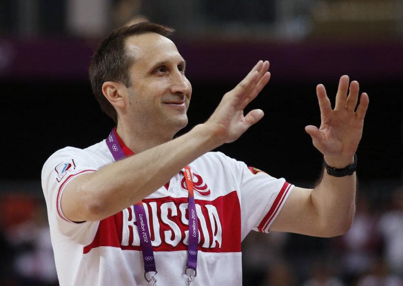 Rusijos rinktinės treneris Davidas Blattas