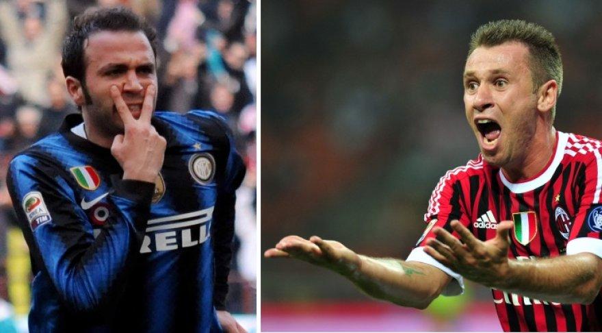 Giampaolo Pazzini ir Antonio Cassano apsikeitė klubais.
