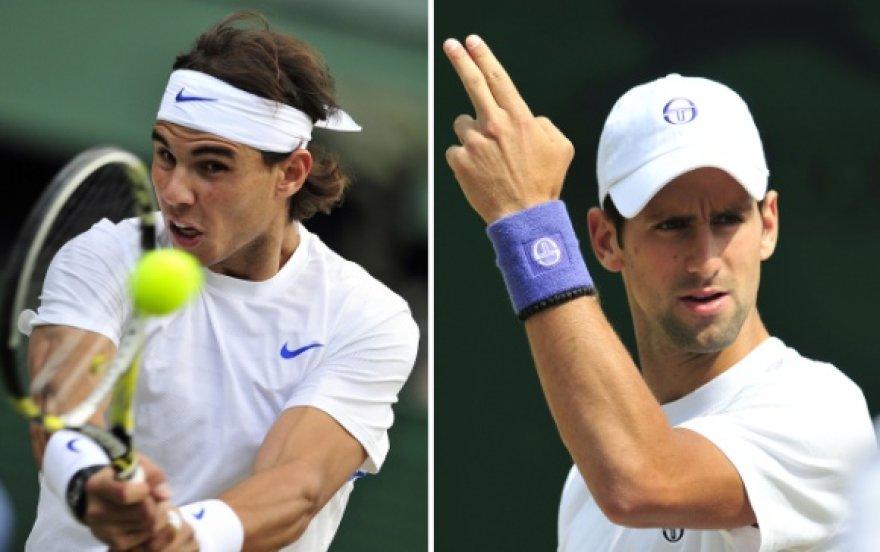 Rafaelis Nadalis prieš Novaką Džokovičių.
