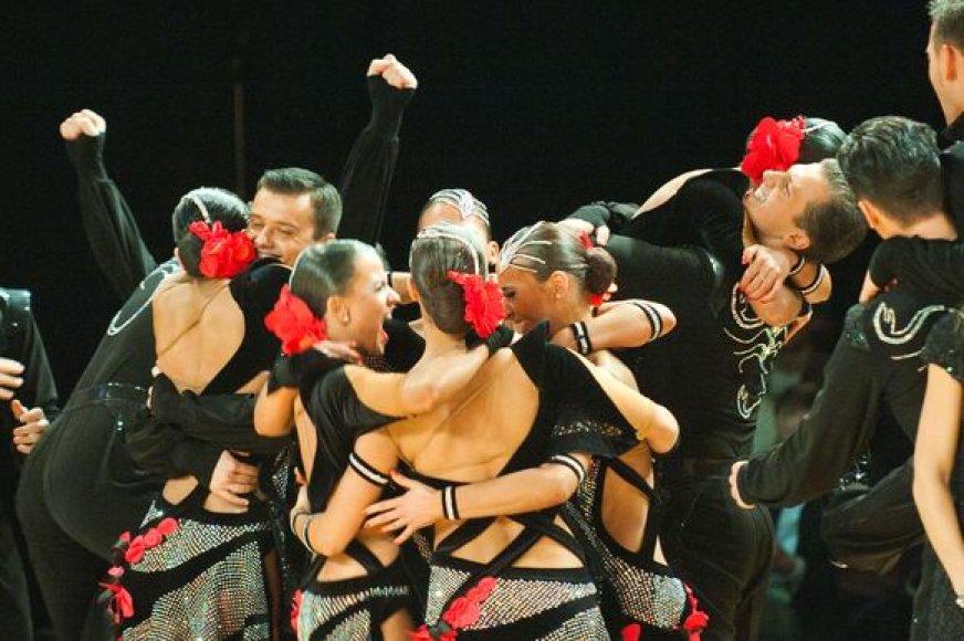 """""""Žuvėdros"""" šokėjų triumfas"""