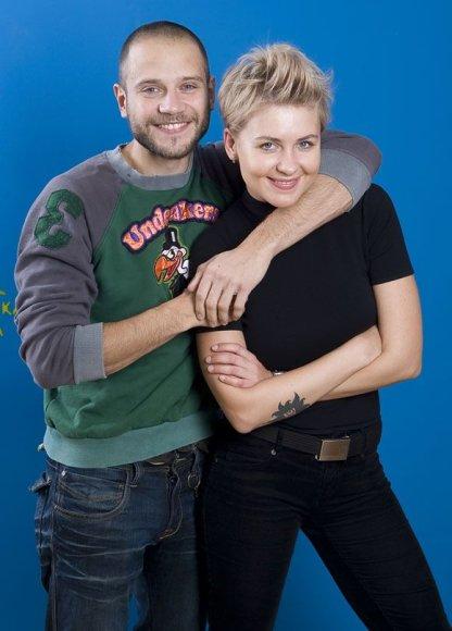 Rimas Valeikis ir Agnė Gintalaitė
