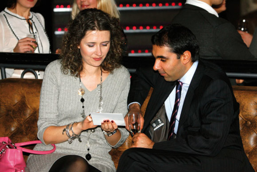 Ramunė Majithia su vyru