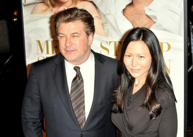 Alecas Baldwinas ir Nicole Seidel
