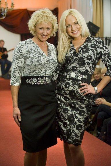 Oksana Pikul su mama