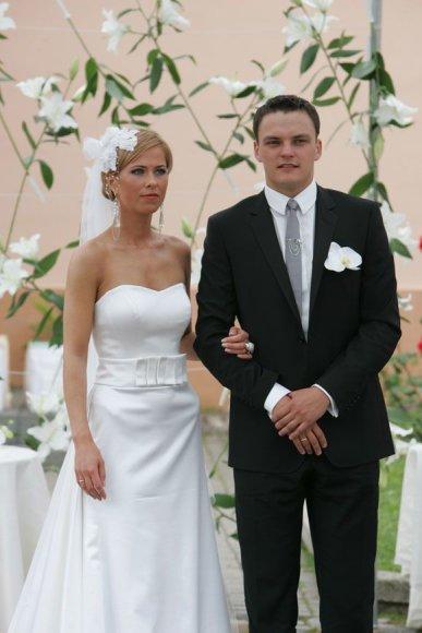 Vytenis ir Monika Jasikevičiai